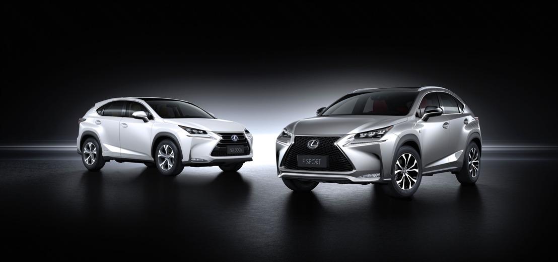 Lexus maakt prijzen bekend van de nieuwe NX 300h