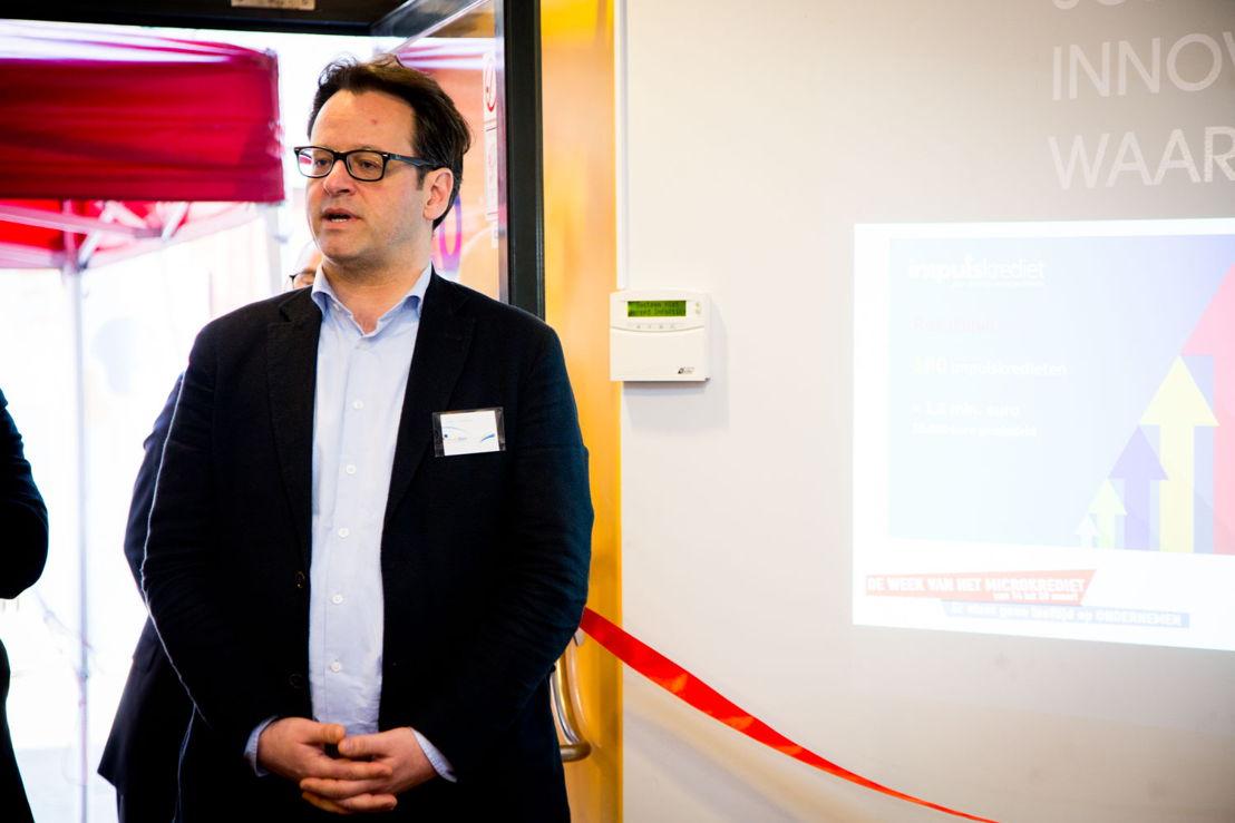 Piet Callens (kredietmanager Hefboom) ©Natalie Hill