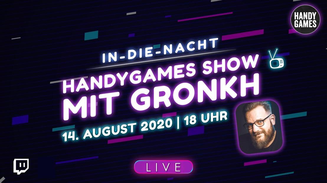 Let's Play Event von HandyGames - Indie Games mit Gronkh °LIVE!