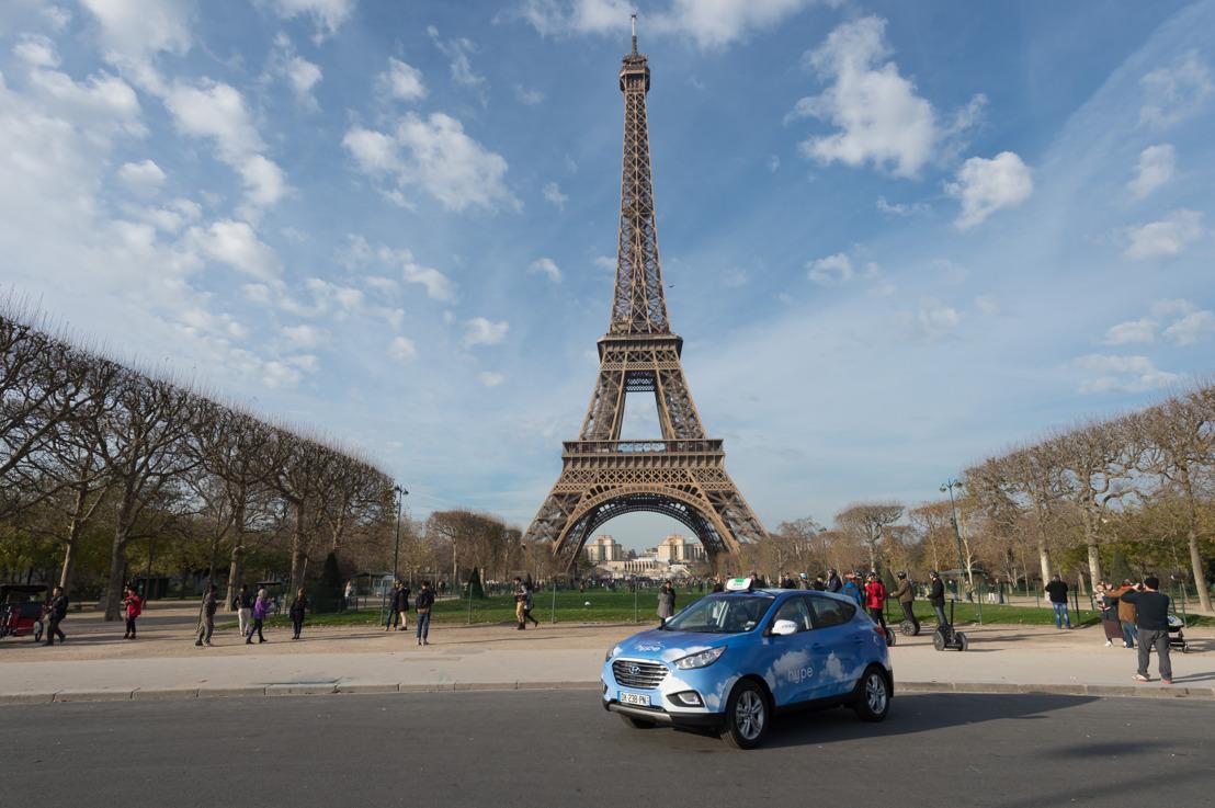 Weltweit grösste Flotte mit Wasserstoff-Taxis fährt Hyundai