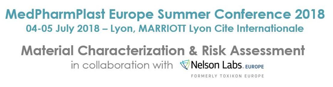 UPDATE: KEY SPEAKERS CONFIRMED - MedPharmPlast Europe summer conference on 4 - 5 July 2018 in Lyon
