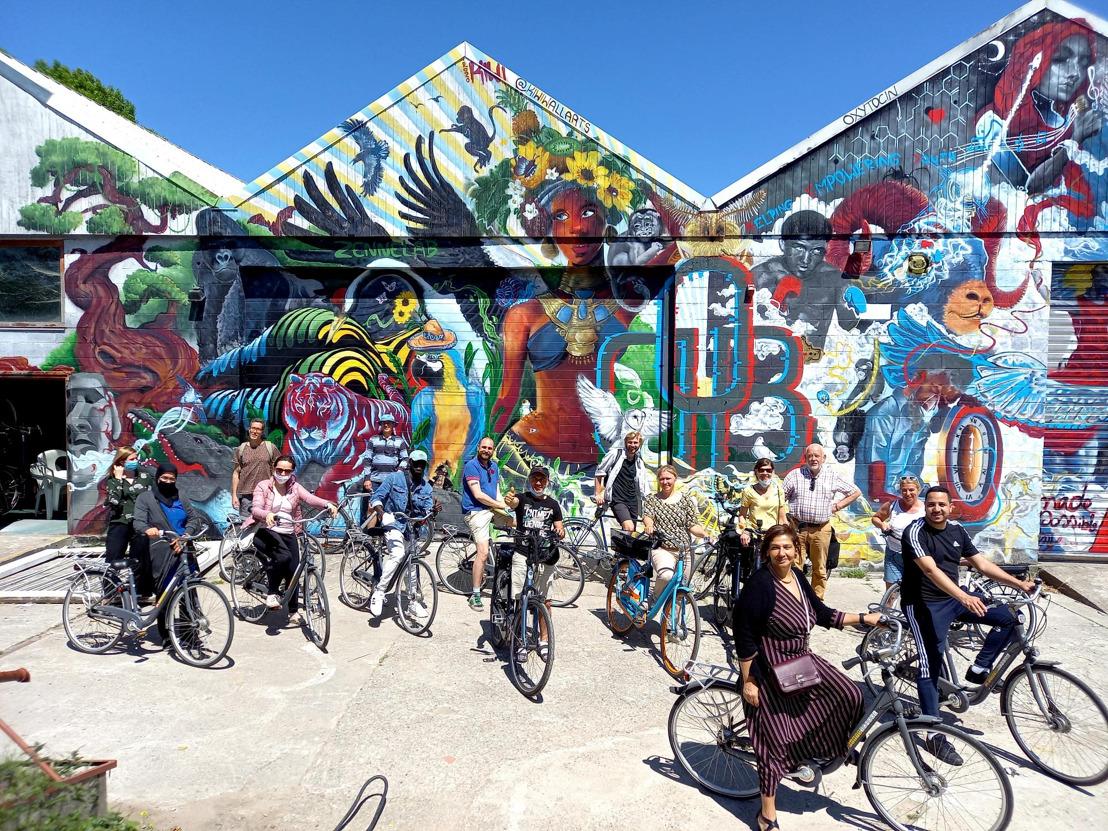 Nederlands oefenen op de fiets