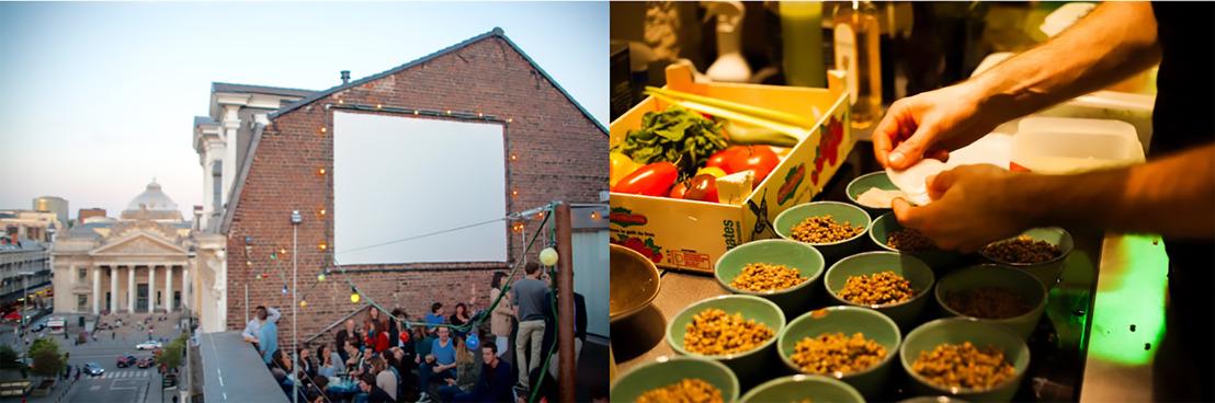'Picnic. Sharing public space' by Beursschouwburg & restaurant AUB-SVP: 8 juni t/m eind september