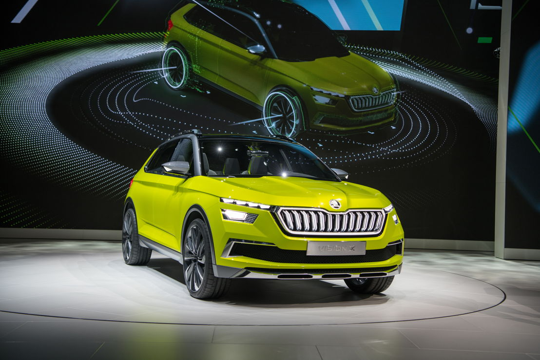 The highlight of the brand's presentation is the unveiling of the ŠKODA VISION X study, providing an outlook on the advanced development of its model range in the SUV segment.