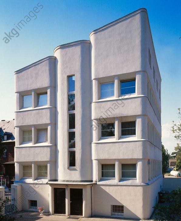 Halle, office building, Forsterstraße (built c. 1924, Arch.: Alfred Gellhorn)<br/>AKG211484
