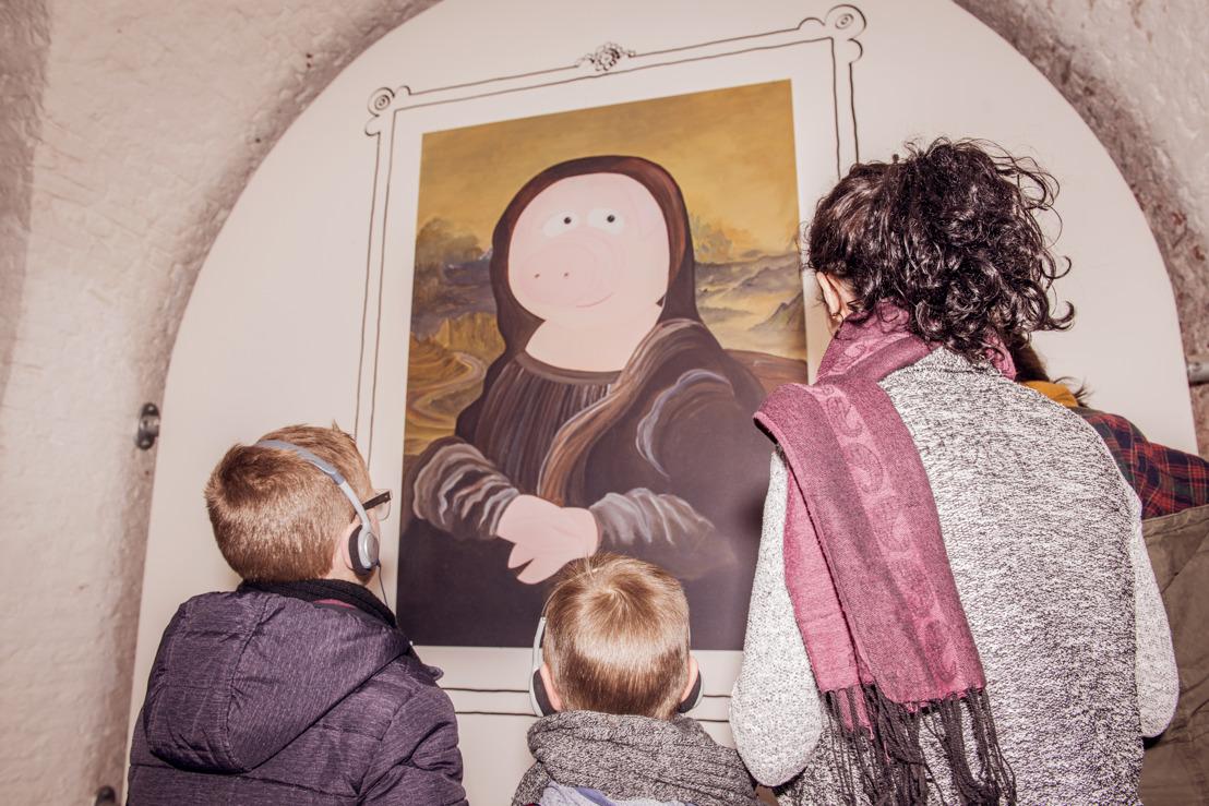 Kinderexpo Grote Kunst voor Kleine Kenners palmt Fort Napoleon in