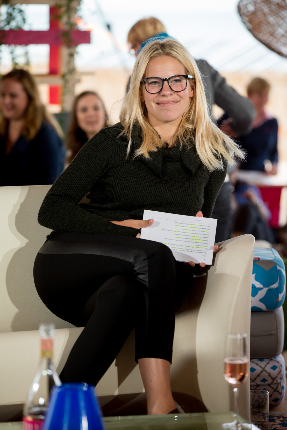 Eline De Munck presenteert Be You(tiful) morgen zonder make-up en met veel lef