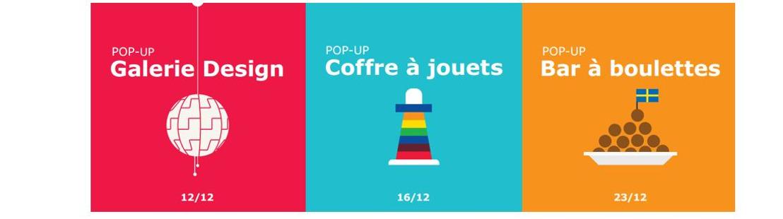 IKEA ouvre trois pop-ups temporaires dans le centre-ville de Mons