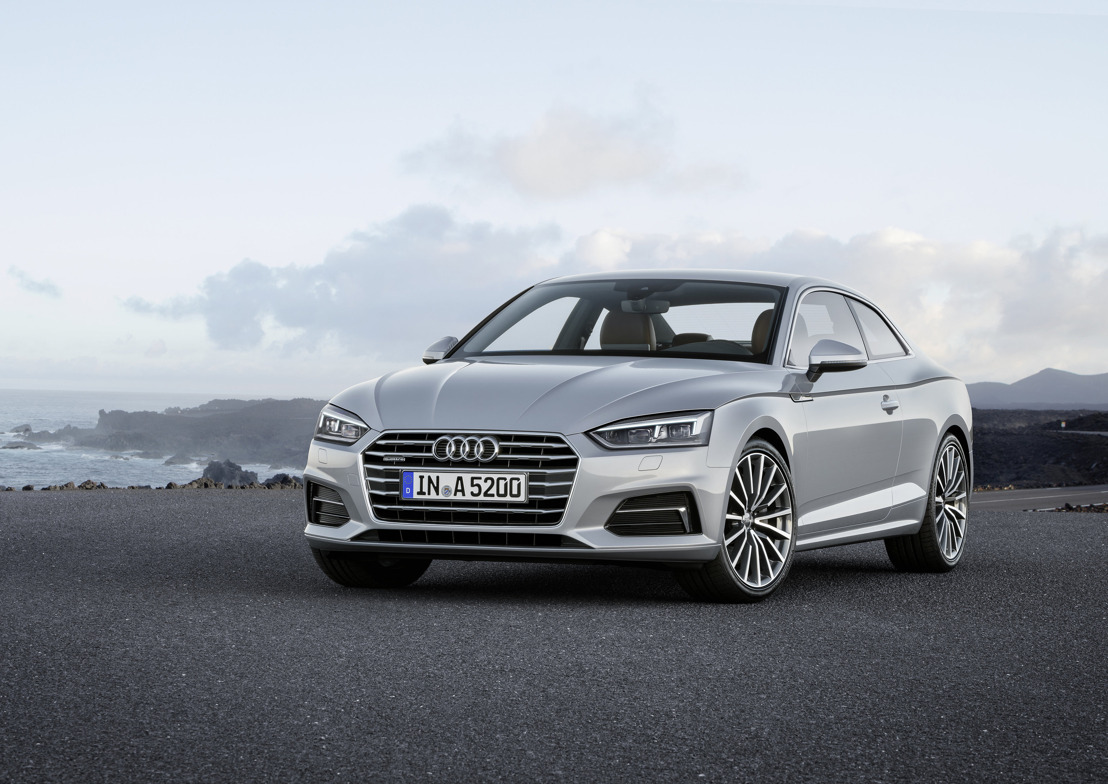 L'élégance sportive – les nouvelles Audi A5 et S5 Coupé