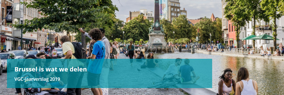 VGC-jaarverslag 2019: 'Brussel is wat we delen'