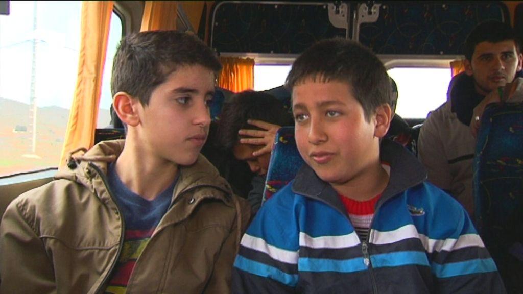 Karrewiet in Marokko - aflevering 2 (6.4) : Achraf op de schoolbus - (c) VRT