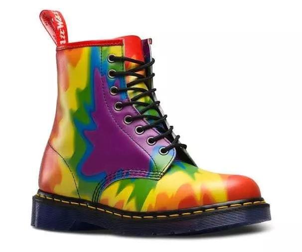 Botas Dr. Martens edición Gay Pride