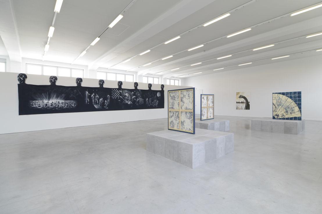 Vue de l'exposition Michael Van den Abeele. Opacity, please au M – Museum Leuven<br/>Courtesy Michael Van den Abeele. Photo: Isabelle Arthuis
