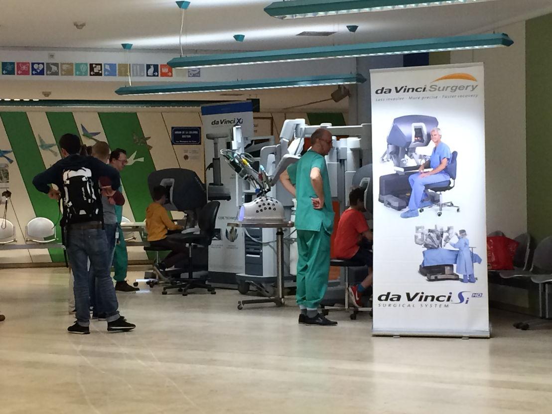Workshop met de robot