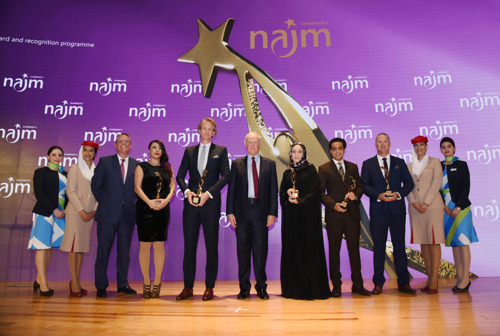 Emirates Group Celebrates Outstanding Employees at Annual Najm Chairman's Awards