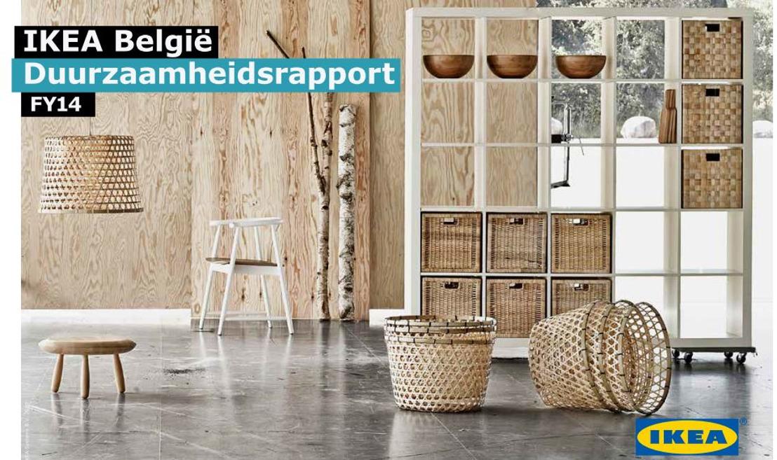 IKEA België brengt Duurzaamheidsrapport 2014 uit