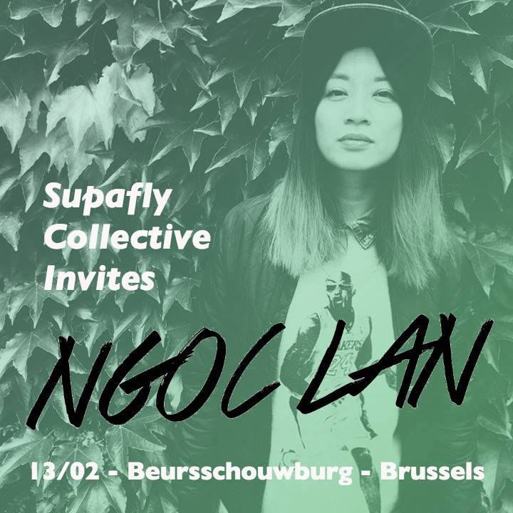 Sa 13.02, 22:00: SupAfly Collective (BE) invites Ngoc Lan (CH)