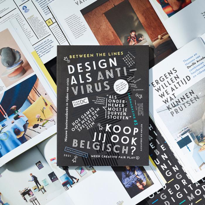 Preview: Between the lines: ons derde jaarmagazine is er!