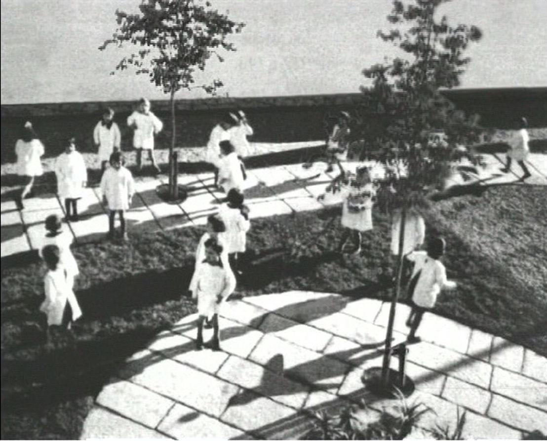 David Claerbout, Kindergarten Antonio Sant'Elia, 1932, 1998 (still) © David Claerbout