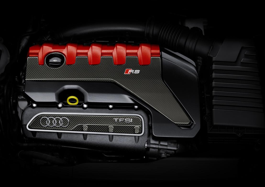 'International Engine of the Year': De Audi 2.5 TFSI-motor is opnieuw de beste in zijn klasse