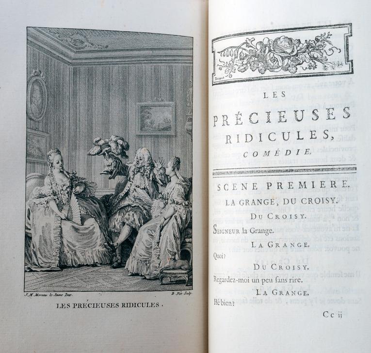 Les précieuses ridicules, 1659. (c) François Guénet / akg-images