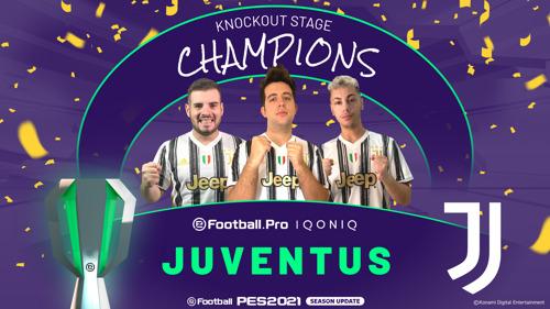 JUVENTUS IST DER SIEGER DER eFootball.Pro IQONIQ IN DER SAISON 2020/21