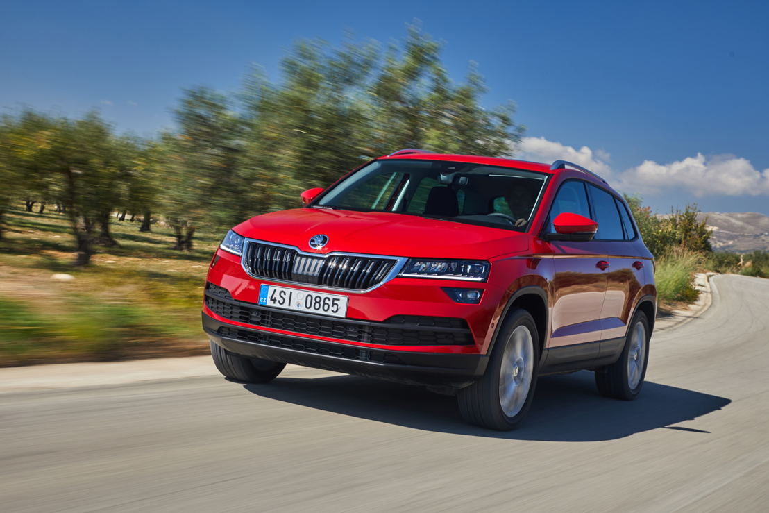 The SUV models KODIAQ and KAROQ (photo) are a cornerstone of the Czech carmaker's dynamic growth.