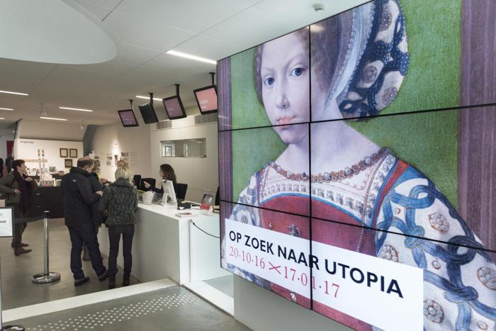 PERSBERICHT EN -UITNODIGING: Laatste weken 'Op zoek naar Utopia'
