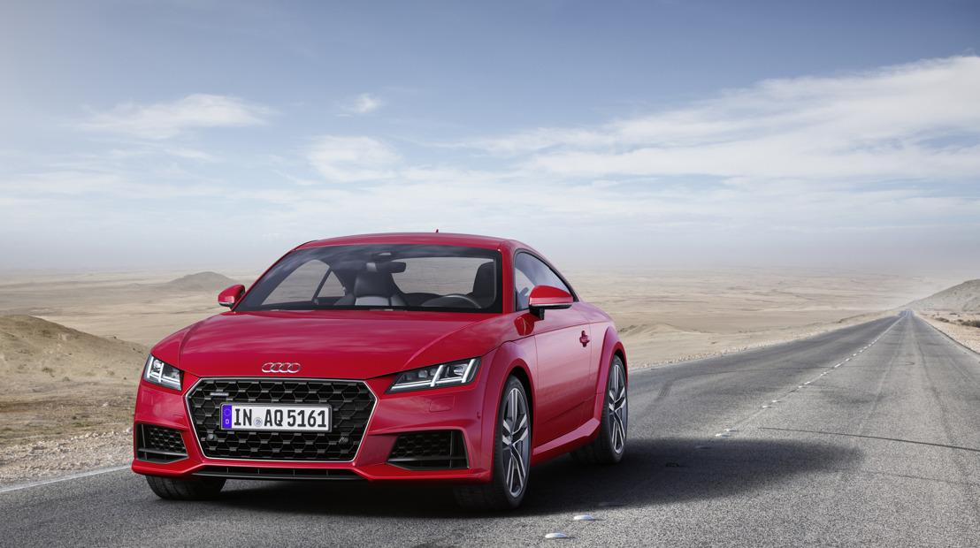 De nieuwe Audi TT: update voor een designicoon