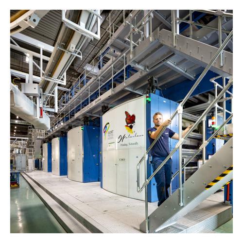 Preview: Coldset Printing Partners kiest voor zonne-installatie van Luminus