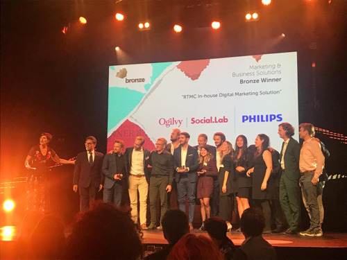 Philips & Ogilvy Social.Lab win recognition for in-house performance marketing at the Effie Awards Europe