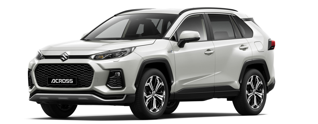 ACROSS, le nouveau SUV de Suzuki