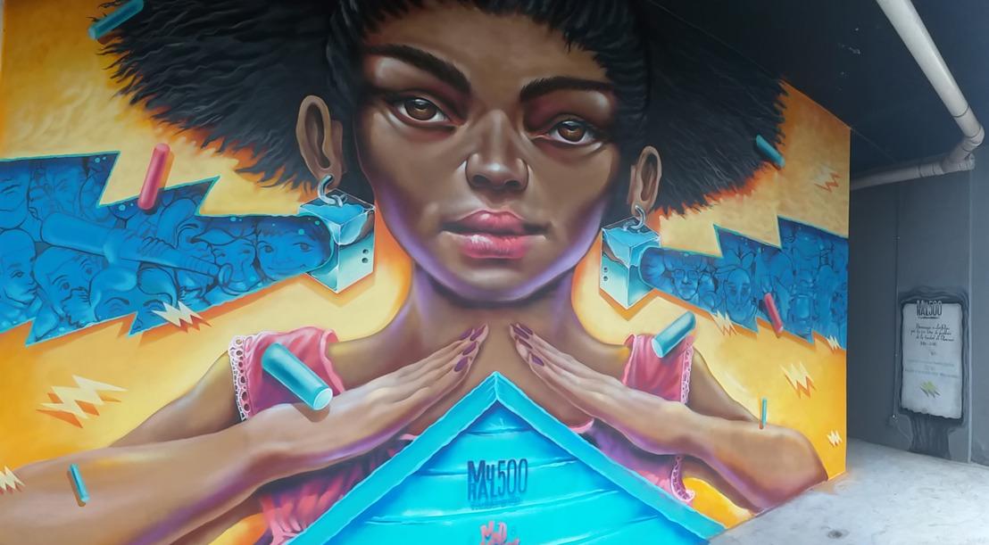 Selina alberga un mural en San Felipe para conmemorar los 500 años de la ciudad