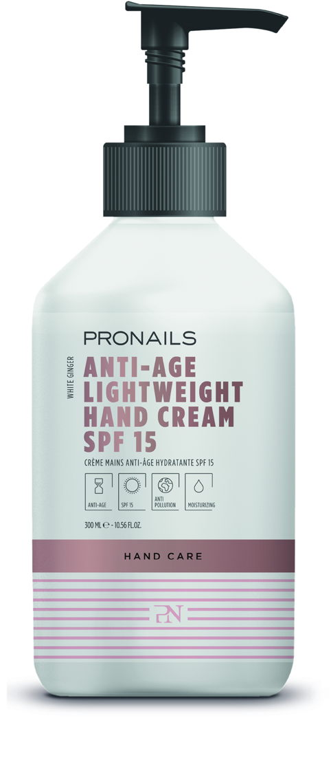 Anti-Age Lightweight Hand Cream SPF 15 300 ml