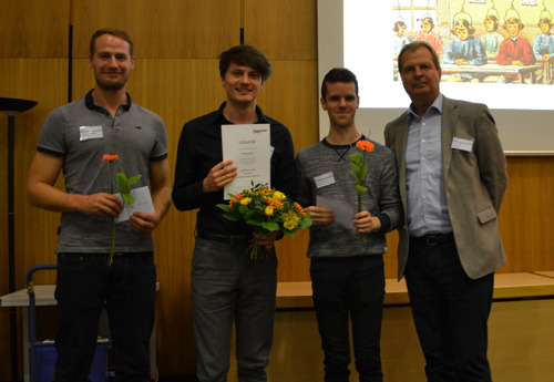 Hugendubel-Preis für beste Masterarbeit im Fach Buchwissenschaft an der LMU München
