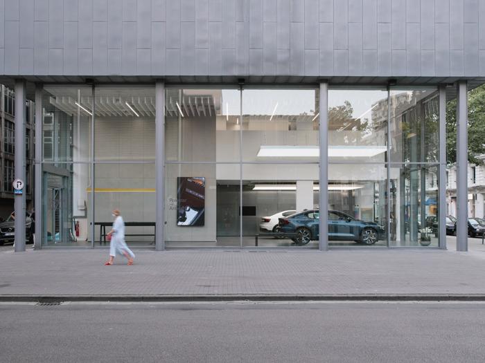 Polestar landt in Antwerpen met zijn tweede Space in België en hertekent het retailmodel van de autosector