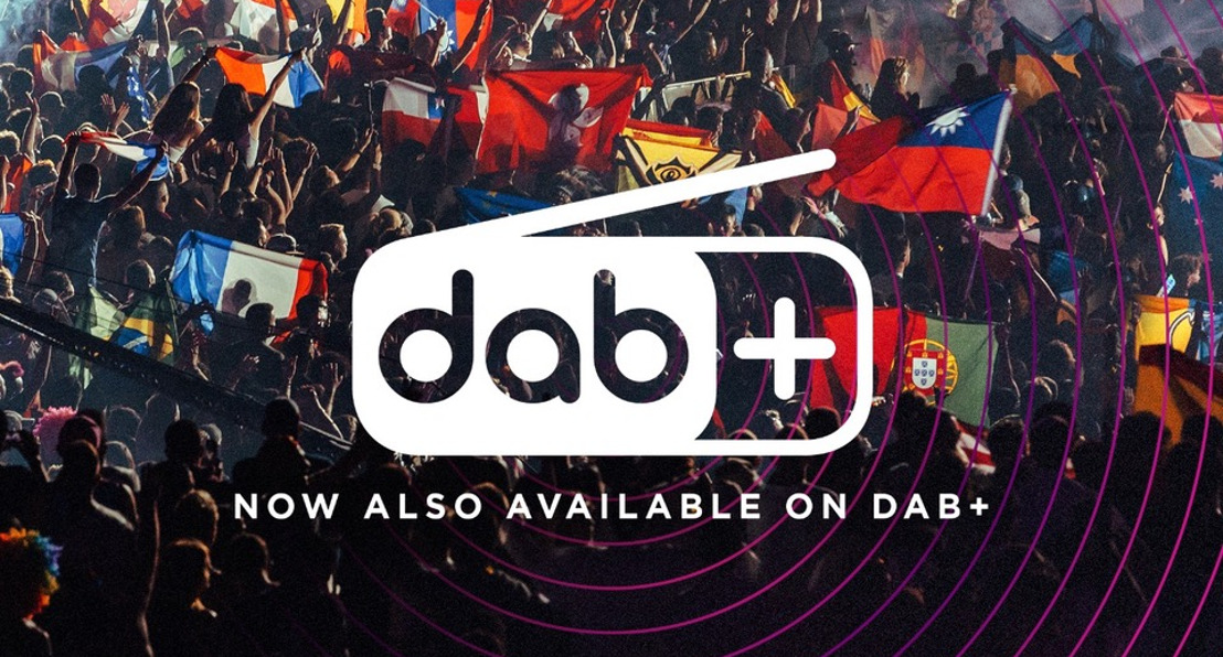Experience and listen to Tomorrowland digitally via DAB+ every day from now on