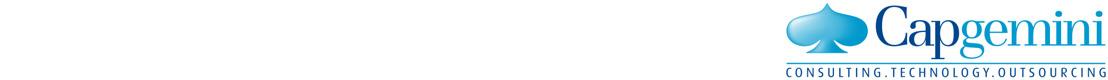 1er semestre 2017 : Capgemini confirme sa dynamique