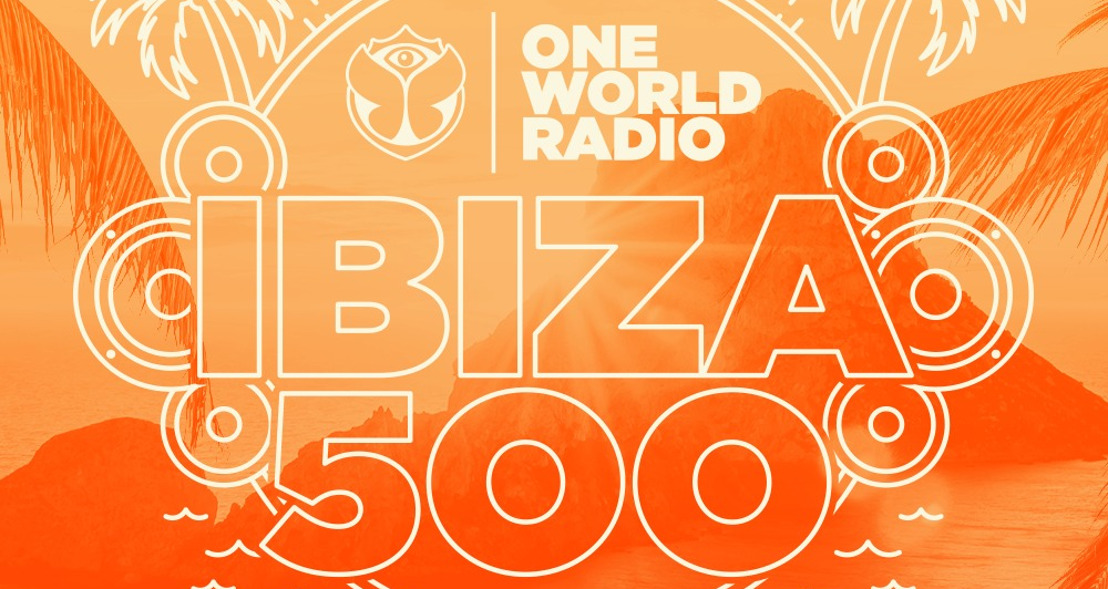 One World Radio kicks off an entire week with the finest Ibiza sounds and starts counting down The Ibiza 500