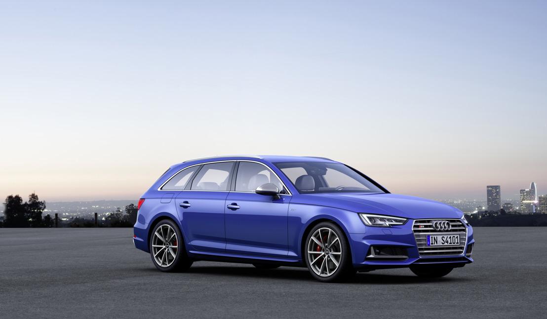 Sportieve spitstechnologie: de nieuwe Audi S4 en S4 Avant
