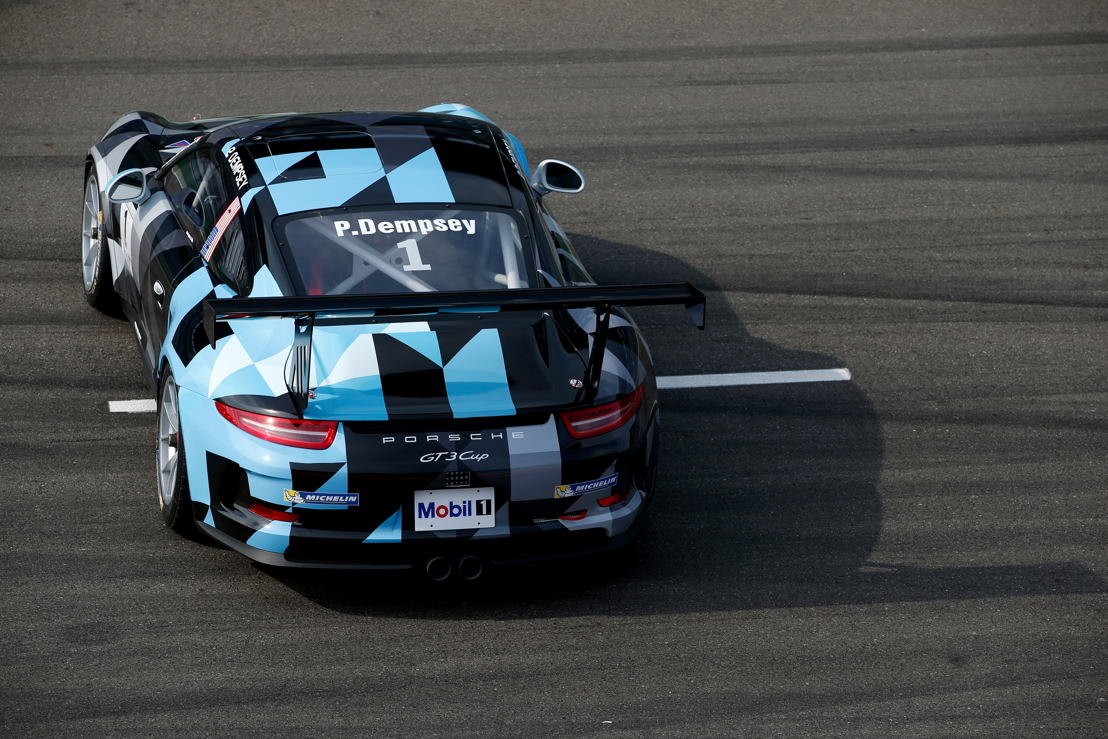 Porsche Mobil 1 Supercup: Patrick Dempsey (USA), guest driver in Spa