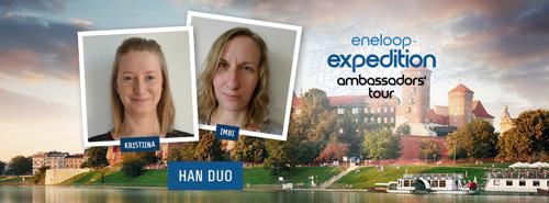 eneloop ambassadors cross borders