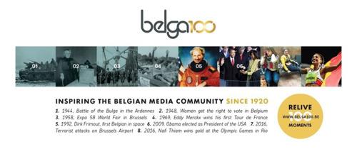 Belga fête ses 100 ans !