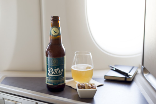 Cathay Pacific introduces Betsy Beer – the world's first hand-crafted bottled beer brewed to be enjoyed at 35,000ft By using a combination of science and traditional brewing methods, Betsy Beer is a high-quality craft ale that has travel in its DNA