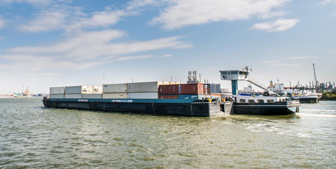 La navigation sans équipage rendue possible dans le port d'Anvers grâce aux capteurs sonar 3D