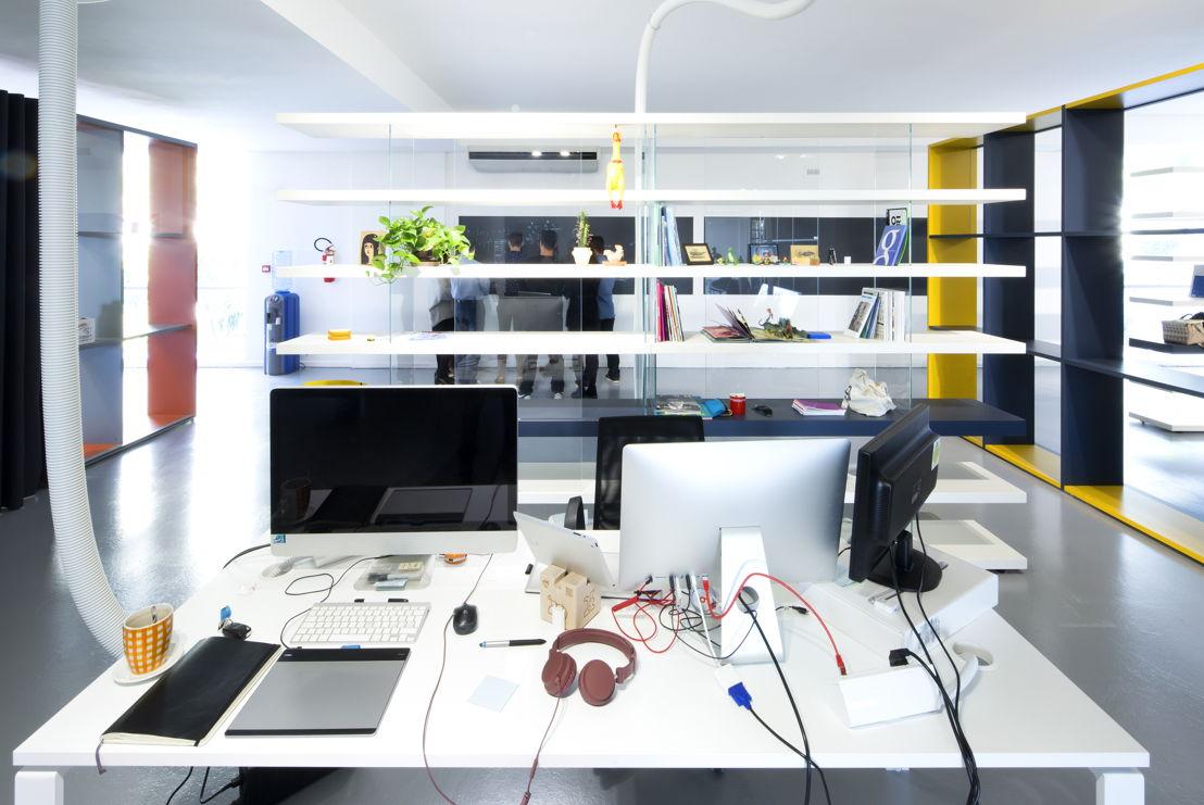 Workspace - Mosaicoon Headquarter © Mosaicoon