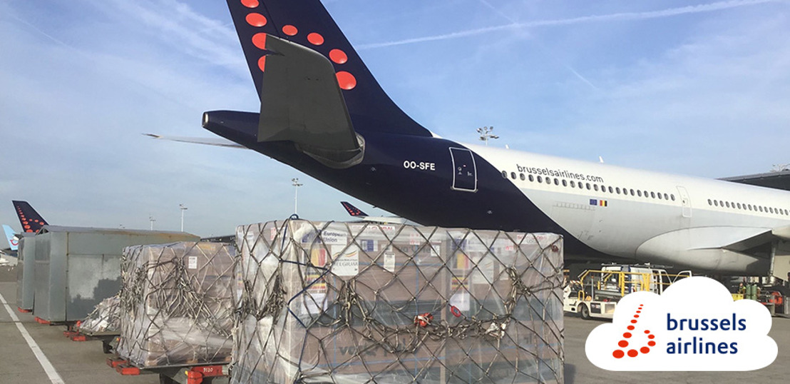Brussels Airlines brings 153,000 COVID-19 vaccines to Uganda