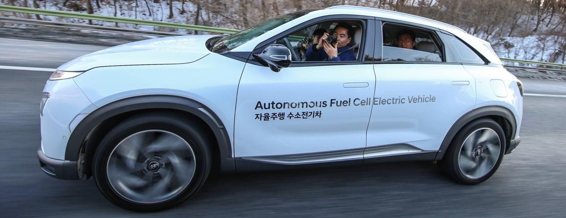 Hyundai Nexo è la prima auto a celle a combustibile a guida autonoma