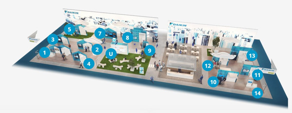 Preview: Daikin Group op ISH 2019 – Bezoek Daikin city