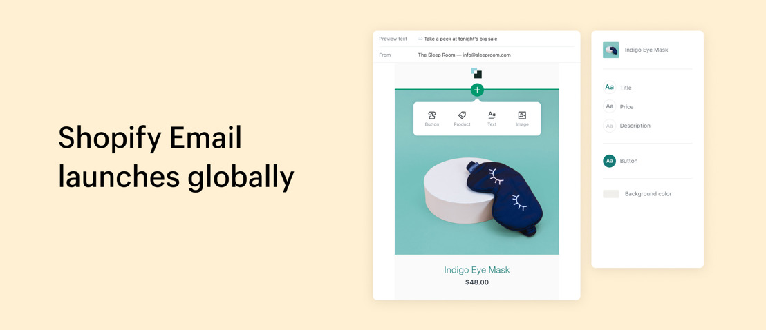 Shopify launches new email product globally, making it easier to reach customers during COVID-19